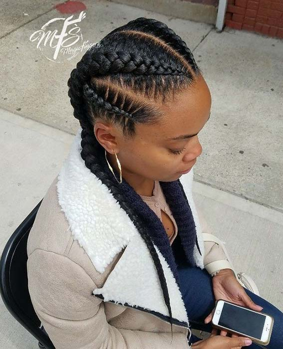 Multi-Braid Coiffure