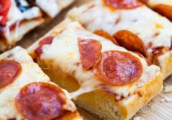EASY Homemade Garlic French Bread Pizza