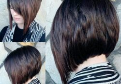 Easy Short Bob Haircut with Straight Hair