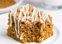 Favorite Pumpkin Streusel Coffee Cake
