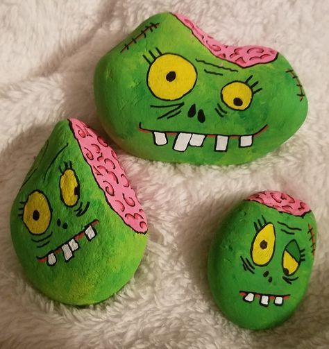 Halloween Monster Rocks