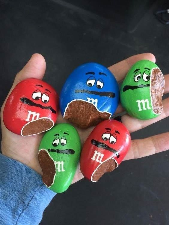 M & M Painted Rocks